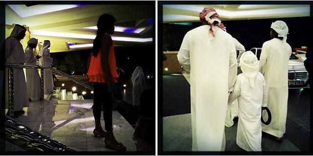 Scenes of Dubai's night life