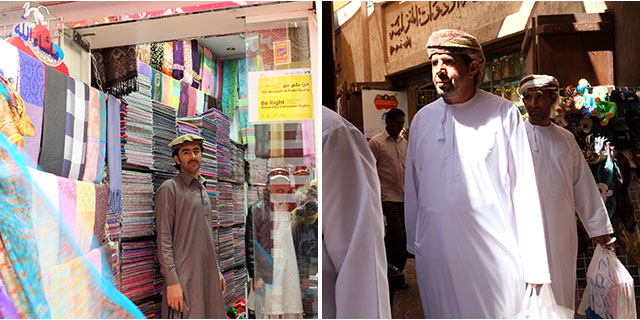 Dubai is a city with many ethnic groups